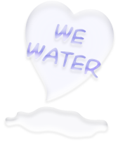 we love water